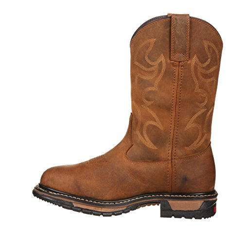 Rocky Women's Western Inches Waterproof Boot 10 RKYW082 Ride Original zzFrnq