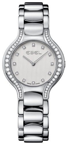 Ebel Beluga Ladies Stainless Steel Diamond Watch 9256N28/691050 - 1215857 Beluga Ladies Wrist Watch