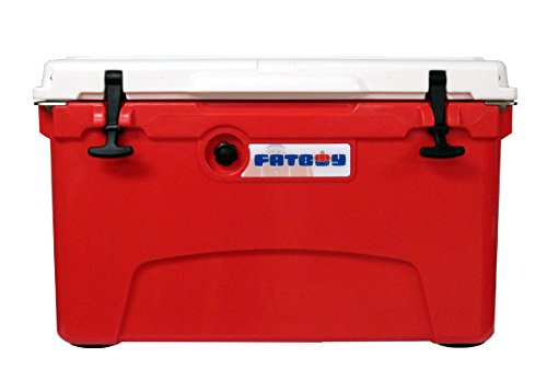 Fatboy 45QT Rotomolded Chest Ice Box Cooler Red White by Fatboy