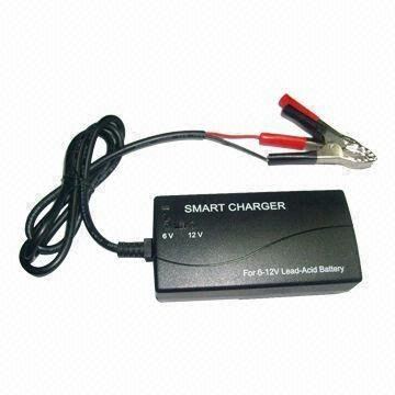 Stage 3 Charger (3 Stage Lead-acid Battery Smart Charger for 6V and 12V batteries)