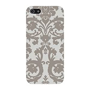 Custom iPhone Case - Gray Vintage Pattern For Apple iPhone 4/4s Hard Back Cover Case