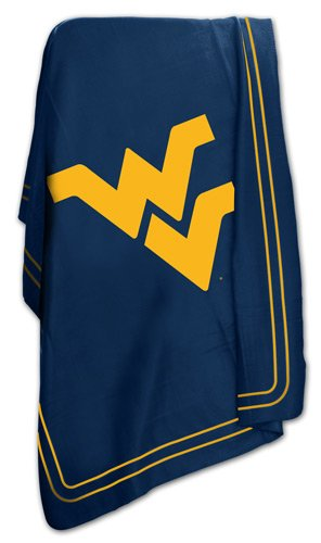 - Logo Brands NCAA West Virginia Mountaineers Classic Fleece Blanket