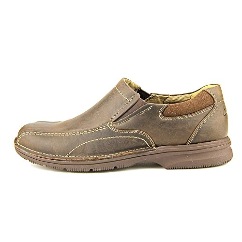 CLARKS Senner Pine Slip-on Shoes Chocolate Chocolate Ov7Xswc9SW