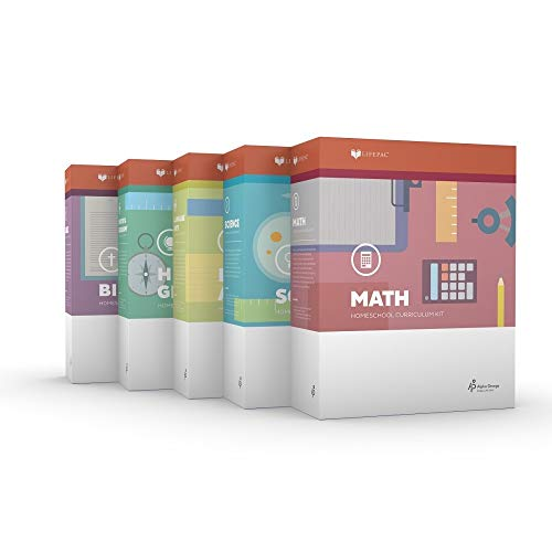 LIFEPAC 4th Grade 5-Subject Complete Boxed Set