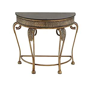 Deco 79 metal console table 41 by 33 inch for 70 inch console table