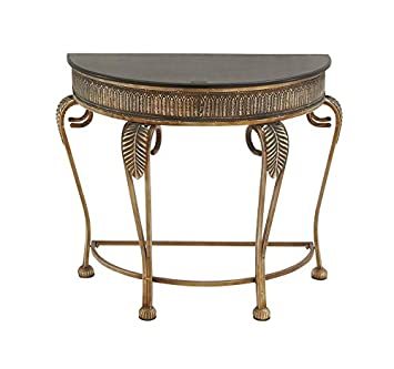 deco 79 metal console table 41 by 33inch - Metal Console Table