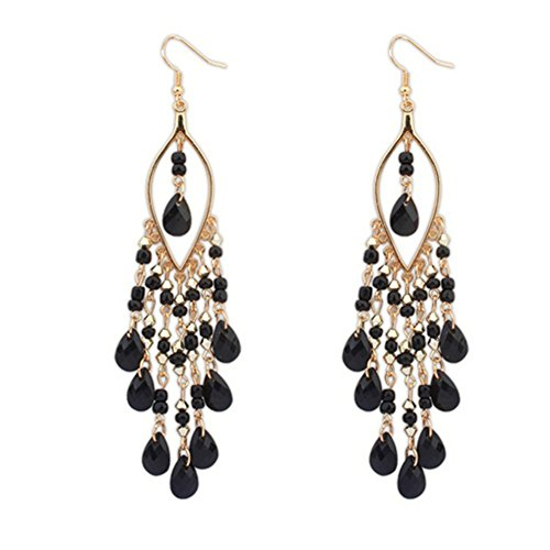CherryGoddy Bohemian Exaggerated Fashion Beads Tassel - Versace Fake China