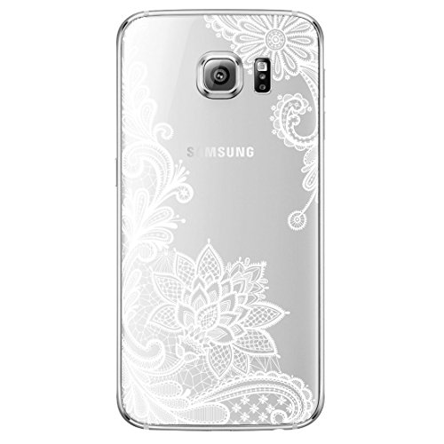 tra Thin Clear Art Pattern Crystal Gel TPU Rubber Flexible Slim Skin Soft Case for A3 2015 (4.5 inch) (A300 Cases)
