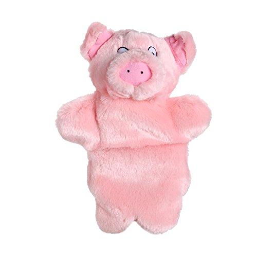 Diamondo Lovely Pink Pig Hand Puppet Baby Kids Child Educational Soft Doll Plush Toy