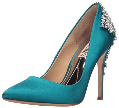 Badgley Mischka Womens Gorgeous Dress Pump Calypso Blu