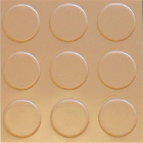 Coin Pattern Sandstone Commercial Grade - 75 Mil - 7.5' x 17' Garage Flooring Rolls