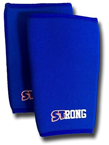 7ec915ee01 Buy Slingshot STrong Knee Sleeves by Mark Bell (sold as a pair) Online at  Low Prices in India - Amazon.in