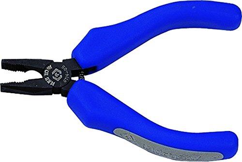 KT Pro Tools 6114-05 Miniature Lineman's Pliers (Miniature Nose Bent Pliers)