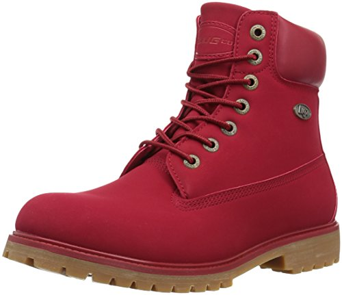 Lugz Men's Convoy Fashion Boot, Mars Red/Gum, 8 D (Red Mens Boots)