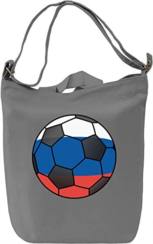 Russia Football Borsa Giornaliera Canvas Canvas Day Bag| 100% Premium Cotton Canvas| DTG Printing|