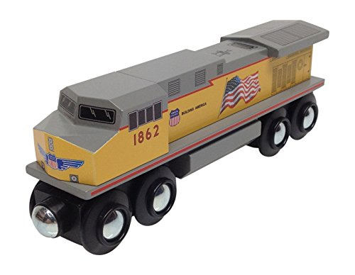 Choo Choo Track & Toy Co. Union Pacific Diesel Locomotive Magnetic Wooden Train