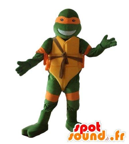 La mascota SpotSound de Miguel Ángel, las famosas Tortugas ...