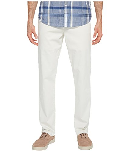 (Tommy Bahama Boracay Flat-Front Chino Pants (Bleached Sand, 34 x 34))