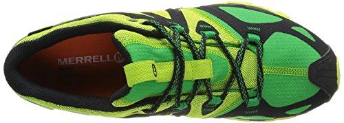 Merrell grassbow Sport Gore Tex - Zapatillas de Senderismo de cuero hombre Grün (FERN GREEN)