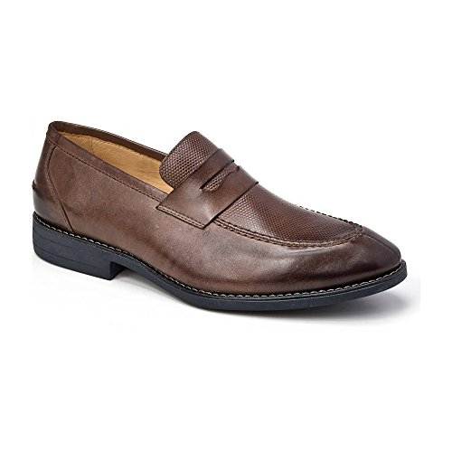 - Sandro Moscoloni Maestro Penny Loafers in Brown (11, Brown)