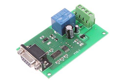 (NOYITO 12V USB Control Switch Relay Module Serial Port Control Relay Control Board Serial Port RS232 Communication)
