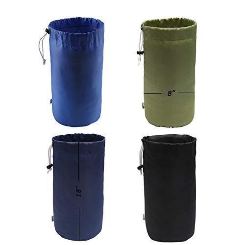 - Augbunny Durable Drawstring Water Resistant Dust Flap Stuff Sack Bag 4-Pack