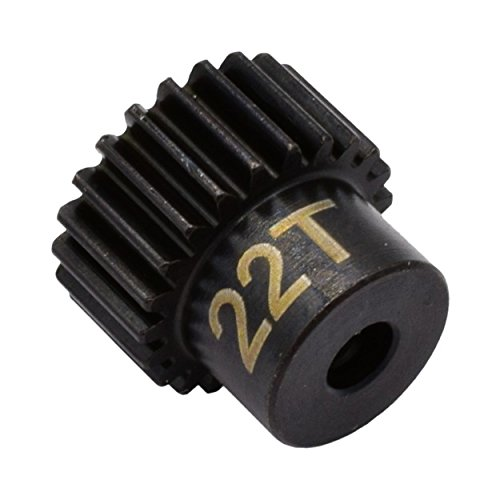 Hot Racing CSG1822 22t 48p Hardened Steel Pinion 1/8 Gear Bore