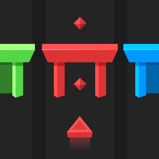 Color Gates - fly across the right color gate - popular super simple fun games for free (2019) no wifi (Best Clicker Games 2019)