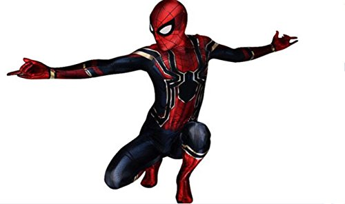HOE-SPANDEX Iron Spider Costume for Kids (Spider Boy Costume)