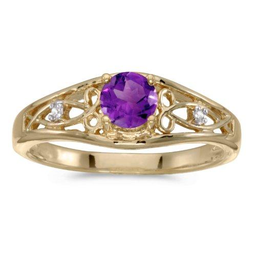 Diamond & Sapphire Bypass Ring - 4