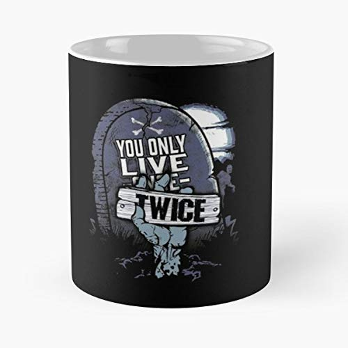 Zombies Undead Dead Skeleton - Handmade Funny 11oz Mug Best Birthday Gifts For Men Women Friends Work Great Holidays Day Gift