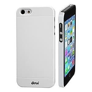 Blanco elegent diseño estera caja de plástico para iphone5/5s