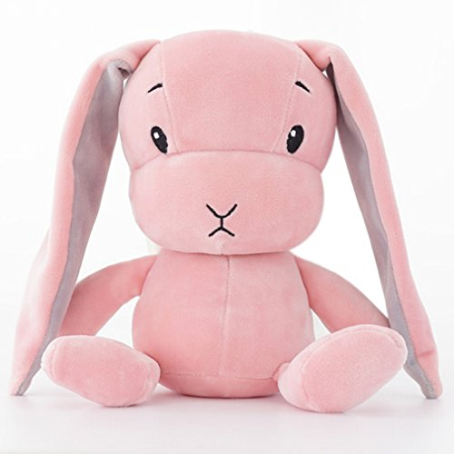 OrliverHL Cute Rabbit Plush Toys Doll Pillow Home Decor Children Birthday Festival Gifts ,Pink