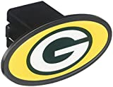 Siskiyou NFL Green Bay Packers Plastic Logo Hitch Cover, Class III
