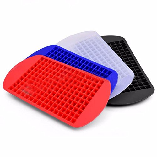 JD Million shop 3 Types Eco-Friendly Cavity Silicone Ice Cube Tray Mini Ice Cubes Small Square Mold Ice Maker New00039
