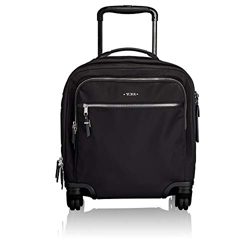 (TUMI - Voyageur Osona Compact Wheeled Carry-On Luggage - 16 Inch Rolling Suitcase for Women - Black/Silver)