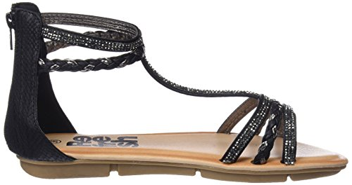Refresh Women's 64286 Open Toe Sandals Black orqjpbK0