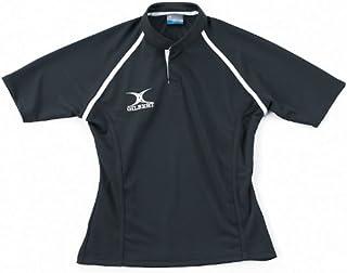 GILBERT Xact Match Rugbyshirt, Schwarz/Gelb, XXXL