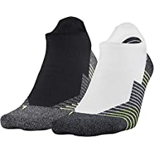 Under Armour Adult Run No Show Tab Socks, 2-Pairs