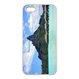 iPhone 4 4s Cell Phone Case Covers White Bora Bora With Nice Appearance T4369414