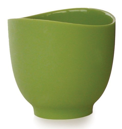 iSi Basics Flexible Silicone Mixing Bowl, One Quart, Wasabi by iSi North America