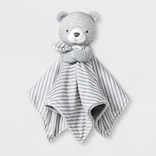 Just One You Baby - Grey/White- Bear Plush Cuddle Blanky