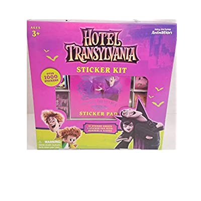 Forever Clever Hotel Transylvania Sticker Kit: Toys & Games