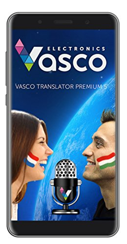 "Vasco Translator Premium 5"" : Voice Recognition, Speak and Translate, Native Speaker Pronunciation"