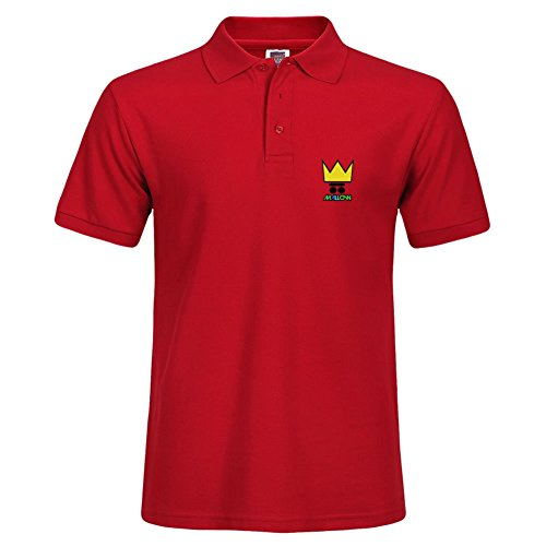 Red Short Polo With Various Style Sport Men Polo Shirt Size Xxx-large - Va Outlets Williamsburg