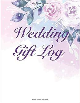 Wedding Gift Log Bridal Shower Gift Log Wedding Gift Registry List
