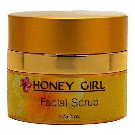 Honey Girl Organics Facial Scrub, 1.75 Fluid Ounce