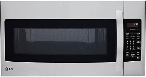 LG LMVH1711ST Over-The-Range Microwave with 1500-watt Convection Technology, 1.7 Cubic Feet