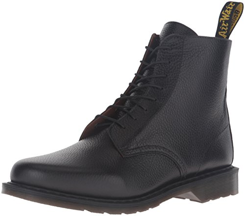 Dr.Martens Mens Eldritch 8 Eye New Nova Leather Boots Black