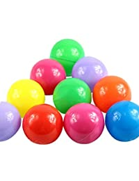 Just Model 100pcs Colorful Fun Balls Soft Plastic Ball Pit Balls Baby Kids Tent Swim Toys Ball 5.5CM, Colours BOBEBE Online Baby Store From New York to Miami and Los Angeles